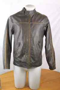 Small men's leather jacket