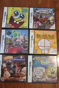 6 DS games in perfect condition London Ontario image 2