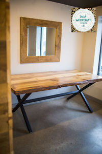 Handmade Harvest Tables Made of Reclaimed Wood