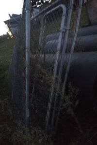 Chain link Dog kennel panels and extra fence and posts