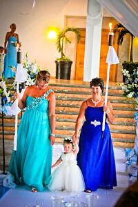 robe de bal ou mère de la mariée
