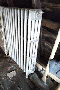 2 Vintage Radiator House Heaters.  Pulled out of 1942 house!
