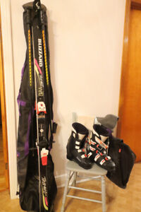 Men's Alpine Racing Skis and Boots