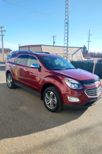 2017 CHEVROLET EQUINOX PREMIERE  AWD LOADED and Like NEW!!