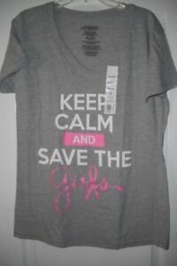 "BNWT, ""Save the Girls"" Breast Cancer Awareness Tshirt"