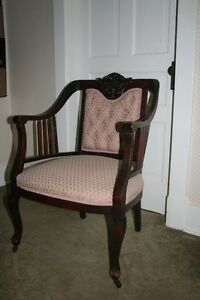 Mahogany and upholstery chair in excellent condition.