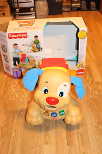 Fisher-Price - Laugh & Learn Walker / Stride-to-Ride Puppy $25