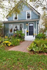Charming century home in a seaside town. Many updates.