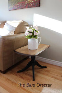 Farmhouse style antique side table
