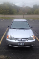 2001 Honda Civic Sedan. Works great and Certified/E-tested.