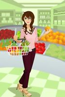 Personal grocery shopper