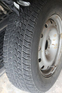 Set of 4 TOYO WINTER TIRES AND RIMS