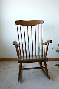 Wood Rocker, Rocking Cair