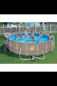 18ft above ground pool