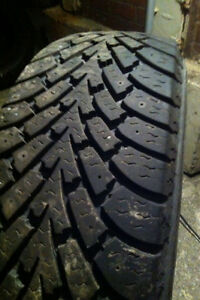 FOUR.  195/65/15. GOODYEAR ALL WEATHER TIRES. 70% left.  $160
