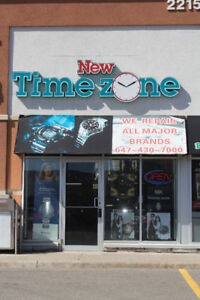 New Timezone - Watch Shop - Sell and Repair watches