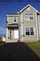 2 BEDROOM RENTAL IN 3 STORY DUPLEX (lights and heat included)