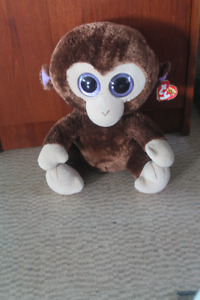 Monkey Beanie Boo Size XL Excellent Condition With Tag