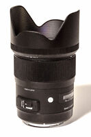 SIGMA 35MM F1.4 DG HSM LENS (ART) for CANON