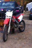 PARTS OUT CR 125 2001
