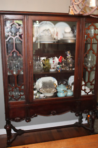 Beautiful, Very Antique China Cabinet