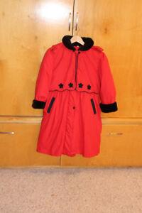girl's dress coat