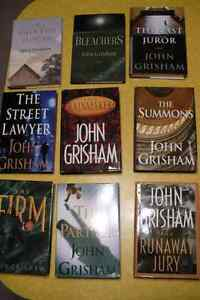 JOHN GRISHAM IN ENGLISH ( $ 5.00 each )