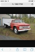 Wanted parts for 1962 ford f700