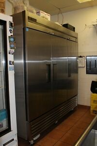 Temp Brand - 3 Door Stainless Steel Freezer