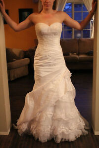 Mermaid Style Wedding Dress - White