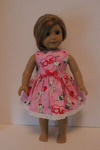 Valentine Dresses Fit American Girl Doll