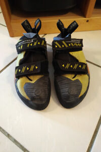 Scarpa Booster S rock climbing shoes, size 42
