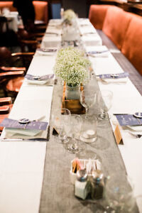 Grey Table Runners - 12