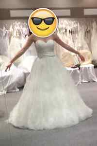 NEW LOWERED PRICE - Jacqueline Exclusive Wedding Gown Cambridge Kitchener Area image 5
