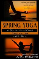 8 Week Spring Yoga Session at Havelock United Church