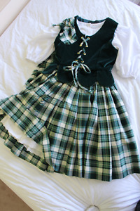 Highland dance outfit and accessories