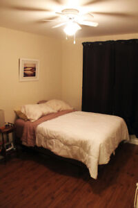 1 spacious sublet available downtown apt (furnished, Jan 1)