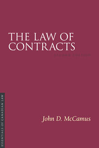 The Law of Contracts - John McCamus