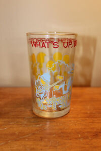 Vintage Bugs Bunny Drinking Glass