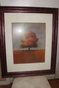 Framed Tree Picture