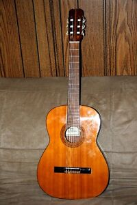 Eros Classical Acoustic Guitar. High Quality Made In Japan.