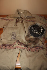 Vintage 1950's Davey Crockett Outfit - Western Outfit London Ontario image 1