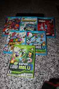 Nintendo Wii and WiiU Games