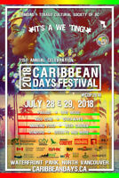 Caribbean Days Festival - July 28/29 - looking for volunteers!
