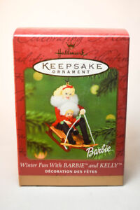 Brand New Barbie Keepsake Ornament Dated 2000