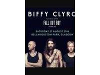 1 Biffy Clyro Ticket for Glasgow Bellahouston Park