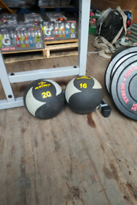 Rubber weights for sell and back machine