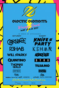 Electric elements hard copy tickets!