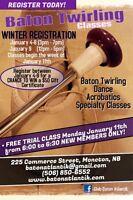 Baton Twirling FREE TRIAL CLASS!