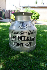Decorative Milk/Cream Can